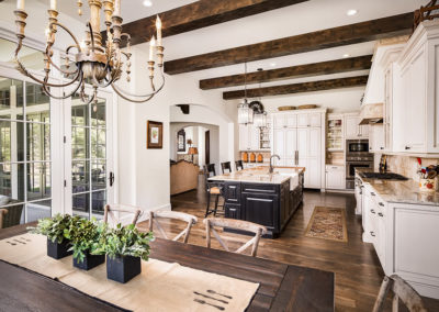 French Country Dining/Kitchen