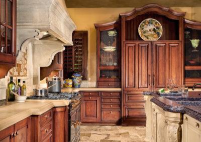 italian tuscan kitchen