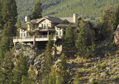 Mountain Hillside Rear