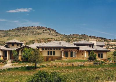 Thomas Sattler Homes Colorado Territorial Exterior