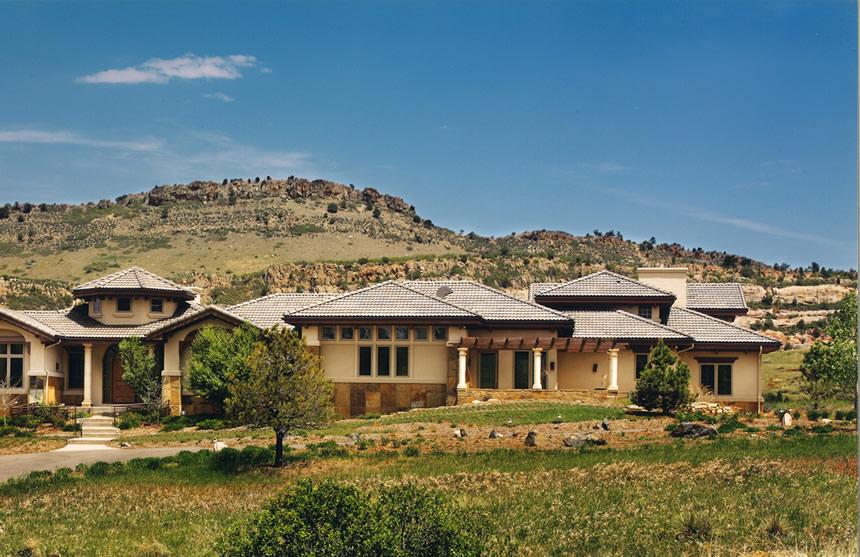 Colorado territorial thomas sattler homes for Territorial house plans