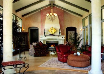Thomas Sattler Homes Colorado Territorial Family Room