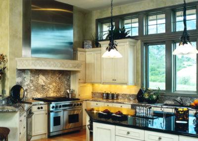 Thomas Sattler Homes Colorado Territorial Kitchen
